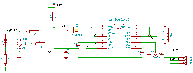 Brilliant Dcf77 Module Circuit Using Mas6180C1 Time Code Receiver Integrated Wiring Cloud Tziciuggs Outletorg