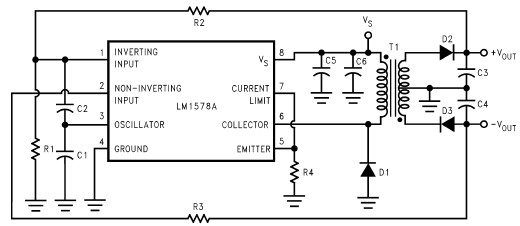 rs232 power supply circuit diagram electronic project design