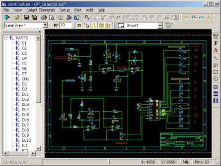 ZenitPCB CAD software
