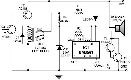 Fire Monitor Diagram together with Digital Panel Meter Circuit Diagram in addition Basic Fire Alarm Wiring Diagram as well Pa System Wiring Diagram together with BasicElectronics 1A Page2. on simple for a fire alarm circuit diagram