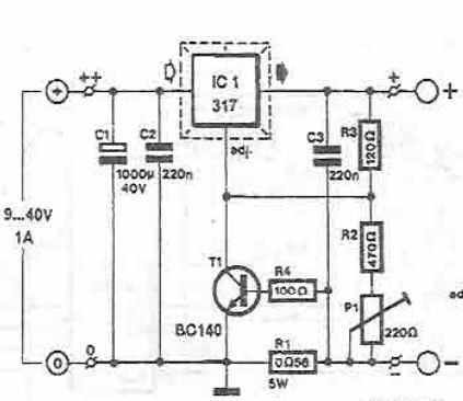 Lm317 Lead Acid Batteries Charger Circuit Design Electronic Project on dc to voltage converter schematic