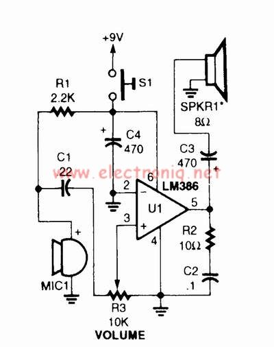 voice changer circuit diagram – the wiring diagram, Circuit diagram