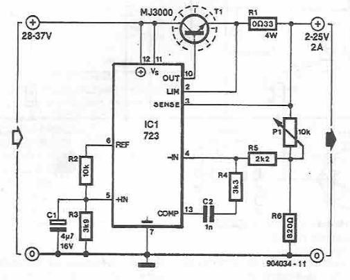 lm723 power supply