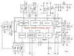 TEA5551T AM radio receiver circuit design electronic project