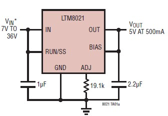 5v power supply LTM8021