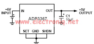 ADP3367 low drop out regulator