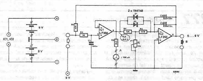 Lie Detector Circuit Diagram | Simple Lie Detector Circuit Design Electronic Project