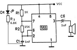 electronic mosquito repellent using 555 timer circuit rh electroniccircuitsdesign com
