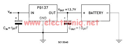 Pb137 charger circuit electronic project design
