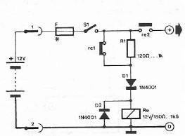 Safety polarity connection circuit design schematic