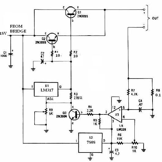 lm317 universal battery charger circuit design electronic project rh electroniccircuitsdesign com  universal battery charger circuit diagram