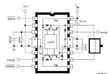 DC servo motor circuit design using A3952S motor driver
