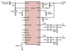 Power management integrated circuit LTC3554