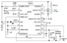 ionization smoke detector circuit diagram