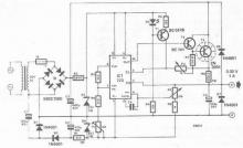 LM723 0-30 volts adjustable power supply circuit diagram project