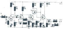 20dB antenna amplifier circuit diagram