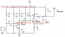 Long range fm transmitter circuit diagram