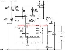MAX712 charger circuit for gel cells NiMH NiCd batteries