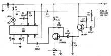 Proximity detector schematic circuit