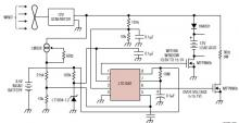 LTC1042 wind charger circuit schematic
