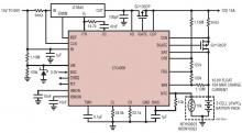 LTC4000 LiFePO4 battery charger circuit design