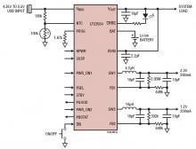 Power management integrated circuit LTC3554