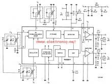 TEA5551T AM radio receiver circuit