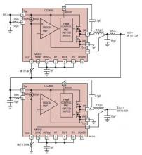 LTC3600 lab power supply circuit diagram electronic project