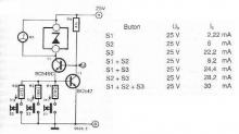 Zener diode tester electronic project circuit design